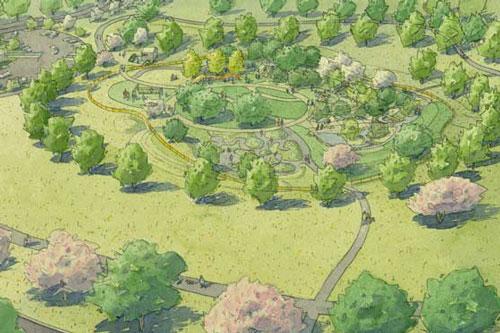 Legacy Grove park rendering